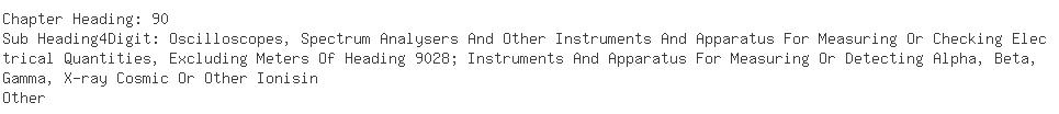 Indian Importers of accelerometer - All Ministries/dept. Of Cent