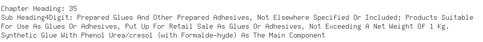 Indian Exporters of adhesive - Jubilant Organosys Ltd (formerly Vam Org