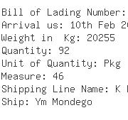 USA Importers of angle - Dhl Global Forwarding