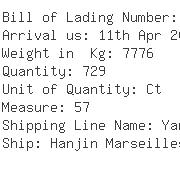 USA Importers of bed cushion - Laufer Freight Lines Ltd