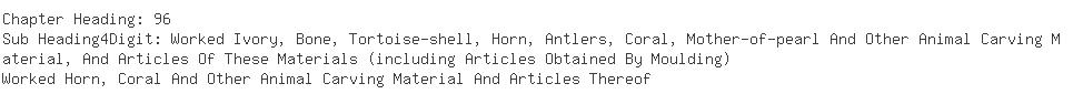 Indian Exporters of bone horn handicraft - Hitachi-kk Manufacturing Co