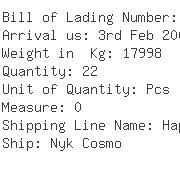 USA Importers of bracket - China Container Line Ltd
