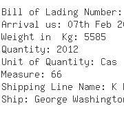 USA Importers of copper strip - Transcon Shipping Co Inc