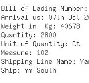 USA Importers of crab - Nc Shipping Inc