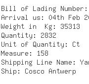 USA Importers of crab - Oec Freight Companies Inc
