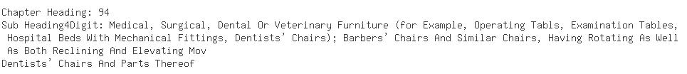 Indian Importers of dental chair - K 9 Enterprises Pvt. Ltd