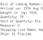 USA Importers of dryer - Dhl Global Forwarding