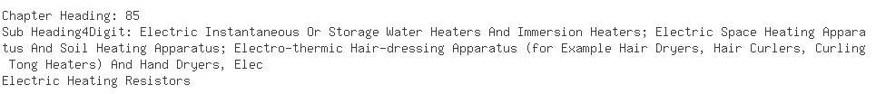 Indian Importers of electric resistor - Asb International Pvt. Ltd