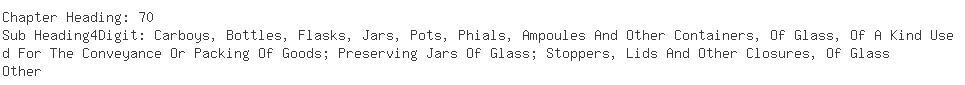 Indian Exporters of empty glass - Pragati Glass Works Ltd