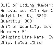 USA Importers of empty hard capsule - Kuehne  &  Nagel Inc