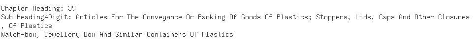 Indian Exporters of empty plastic - Panky Export Corporation