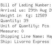 USA Importers of filter element - Panalpina World Transport Ltd