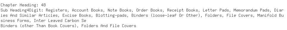 Indian Importers of folder - Turel Sales Corporation