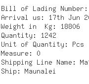 USA Importers of garment cotton - Dewell Container Shipping - Cn