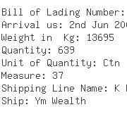 USA Importers of gasket - Dhl Global Forwarding-ord