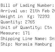 USA Importers of grain - Oec Shipping Los Angeles Inc 13100