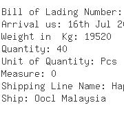 USA Importers of grain - Panalpina Inc
