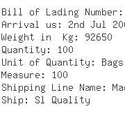 USA Importers of guar gum - Aqualon Company