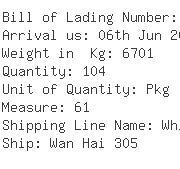 USA Importers of handicraft bamboo - United Cargo Management Inc