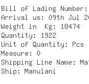 USA Importers of hat - Naca Logistics Usa Inc - Cn
