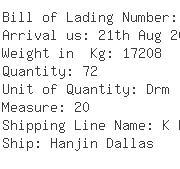 USA Importers of hazardous chemical - Dyna Freight Inc