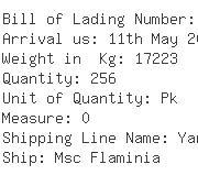 USA Importers of hazardous chemical - Panalpina Ocean Freight Div