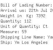 USA Importers of ice machine - Kamino International Transport Inc