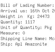 USA Importers of instrument - Multi-link Container Line Llc