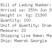 USA Importers of iron powder - Associated Container Lines