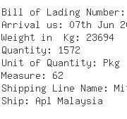 USA Importers of knife - Lrg International Inc -miami