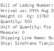 USA Importers of knitted top - United Cargo Management
