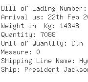 USA Importers of knitted top - Apl Logistics Hong Kong