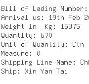 USA Importers of leather shoe - Ups Ocean Freight Services Inc 3031