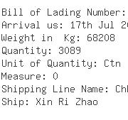 USA Importers of leather shoe - Ups Ocean Freight Services Inc 490