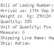 USA Importers of lysine - Dhl Global Forwarding