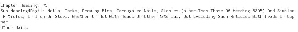 Indian Exporters of nail - Bharath International