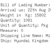 USA Importers of namkeen - Consolidated Shipping Line Inc - C