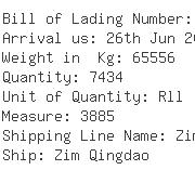 USA Importers of needle punch - Scanwell Logistics Nyc Inc
