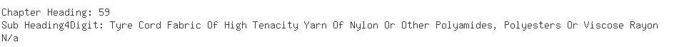Indian Importers of nylon - Apollo Tyres Ltd