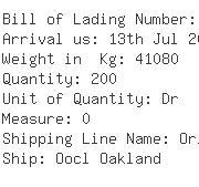 USA Importers of olive oil - Kuehne  &  Nagel Inc