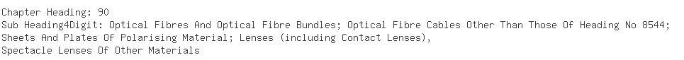 Indian Importers of optical lens - Reflect Optics Pvt. Ltd