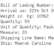 USA Importers of organic dye - Samrat Container Lines Inc