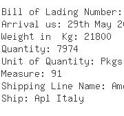 USA Importers of pallet packing - Caterpillar Inc