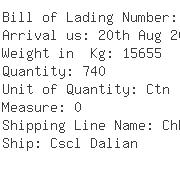 USA Importers of pen card - Rs Maritime Canada Inc Boundary