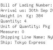 USA Importers of plastic tank - Panalpina Inc-ocean Freight Div