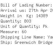 USA Importers of printed bag - Kuehne & nagel International Ltd