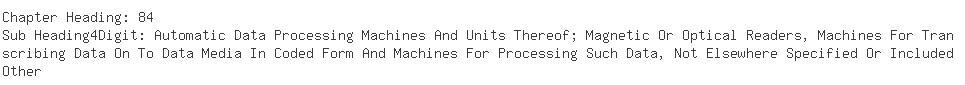 Indian Importers of rack - Alcatel India Ltd