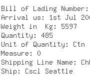 USA Importers of radio - Expeditors Intl-ord Ocean 849