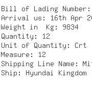 USA Importers of refractory - Tri-net Logistics Management Inc