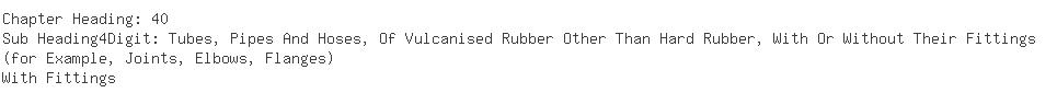 Indian Importers of rubber hose - Enron Oil  &  Gas India Limited